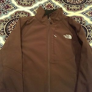 Brown The North Face jacket